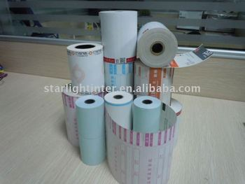 thermal paper with OEM printing