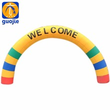 Outdoor decorative inflatable arches for sale