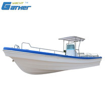 Gather Yacht China cheap best low price classic fiberglass boat for sale