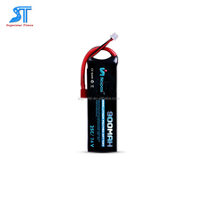 Factory Long life RC car lithium polymer battery 2s 900mah 25c remote controlled car hard case lipo pack