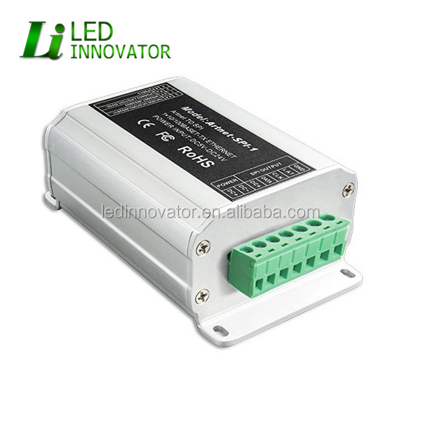 artnet to spi led controller