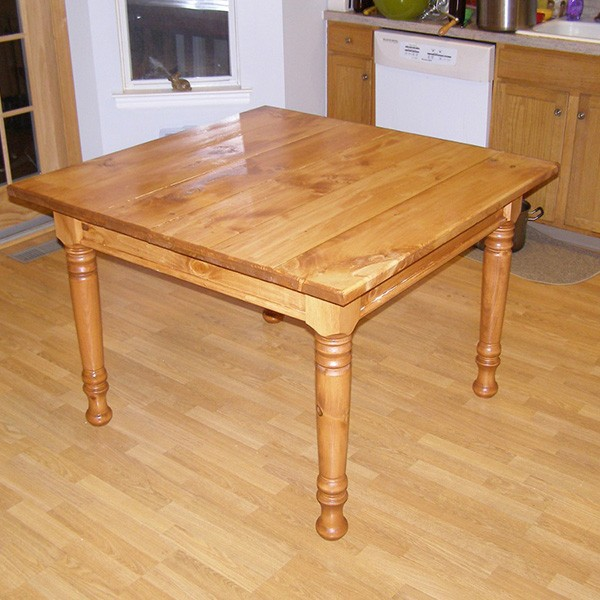 Custom turned wood dining table legs in high quality