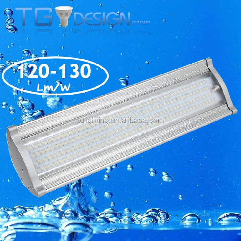 5 years warranty meanwell driver car wash led high bay fixture IP65, led canopy light fixture