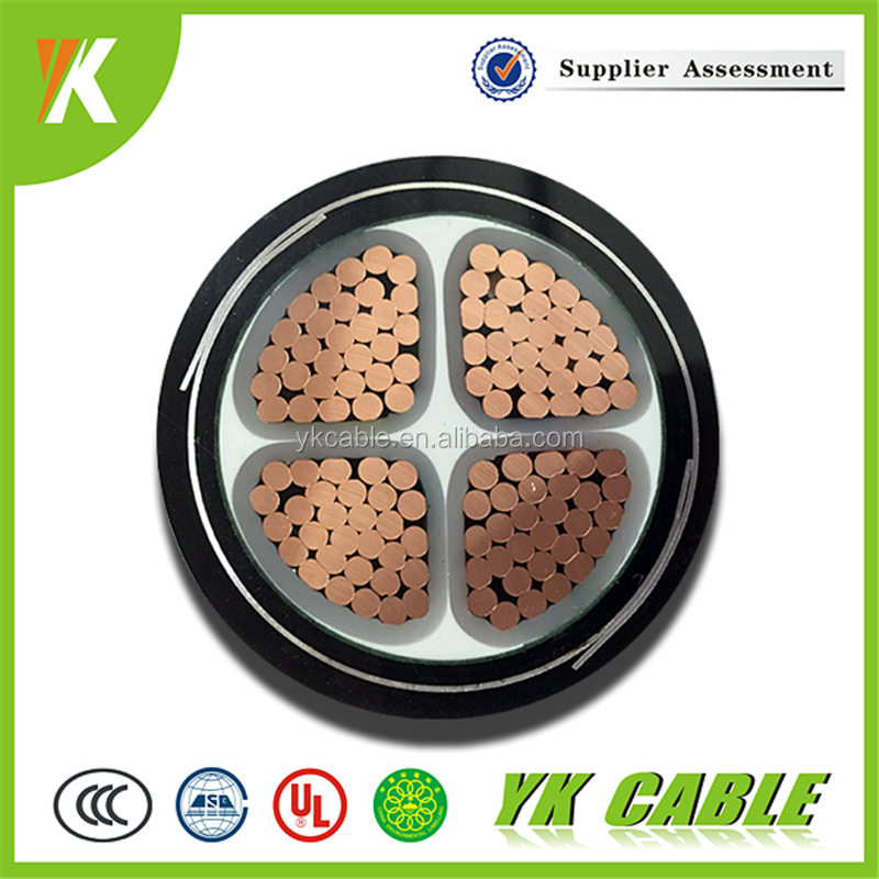 Ground 185mm2 4 cores xlpe insulated lsoh sheathed armoured power cables