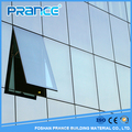 Internationalization of individualizing frameless glass curtain wall construction in New Zealand