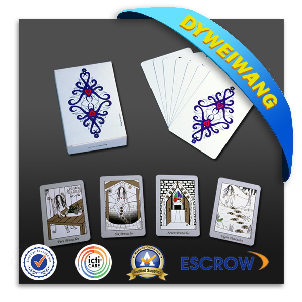 Hot new products excellent texture printing playing cards for fun