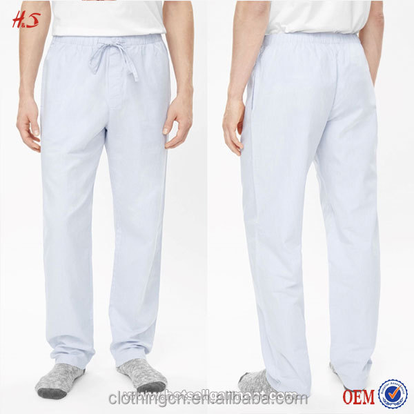100% Cotton Man Trousers By Clothing Manufacturer By Names Of Clothing Stores With Elasticate Waistband From Dongguan City