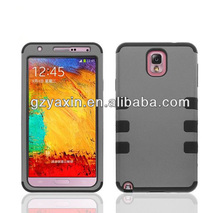 shock proof silicone robot unique phone cases for samsung galaxy note 3
