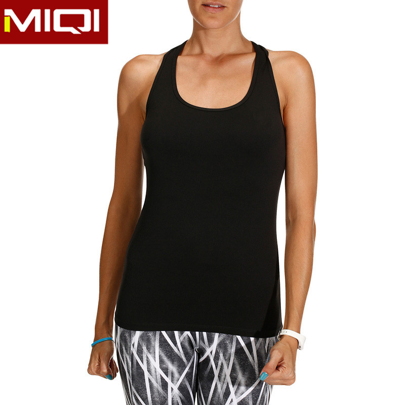 Wholesale Performance Shirts Fitness Tank Top Fitness Clothing Womens Crop Top