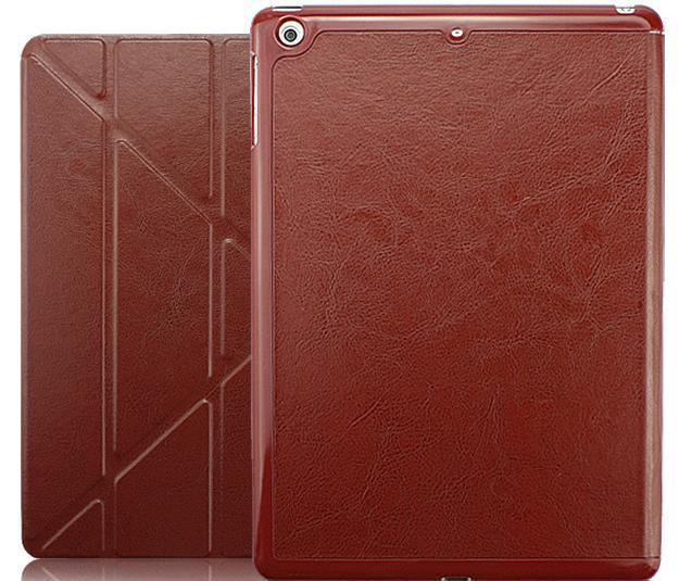 fashion eleven fold deformation folder iPad air leather Apple's ipad5 tablet PC protection case
