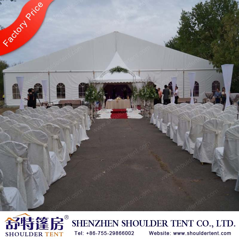 Manufacturer of different designs and sizes PVC material party wedding tent for events