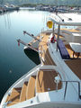 Hot selling composite teak decking for boat mixtured color eva foam EVA Foam Decking