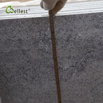 building material brush grey lime stone for exterior wall and floor tiles
