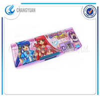 (CY6365) free sample children colored stationary set pencil cases for school