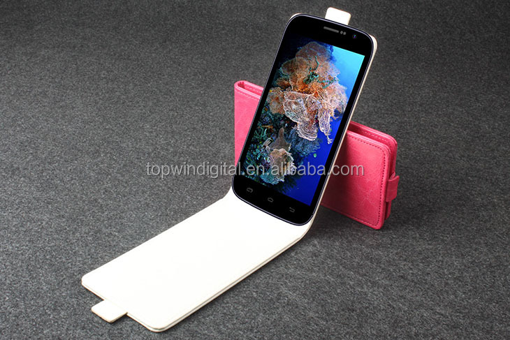 2014 Hot Selling Funky Mobile Phone Leather Case For Doogee DG500