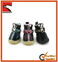 Best Quality Winter Spring Pet Dog Zipper Shoes,warm Waterproof dog boots