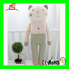 Stuffed plush cat animal toy Cushion for kids gift