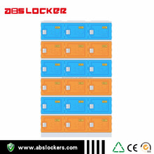fashionable design 6 tires red colors ABS lockers and lock for sea and beach