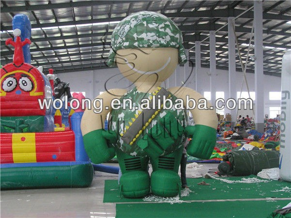 High quality inflatable advertising cartoon, inflatable products