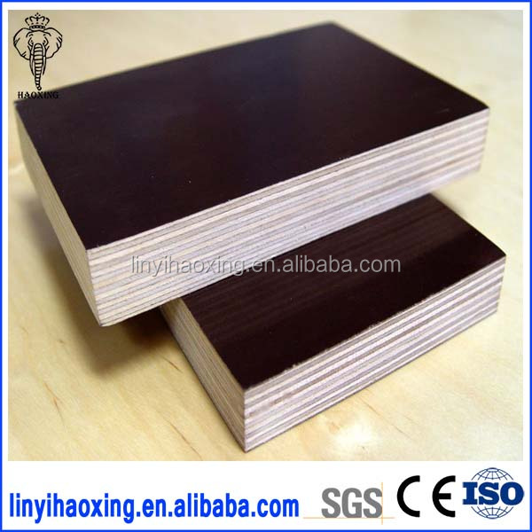 black film faced plywood/Building Construction Materials/full core film faced plywood