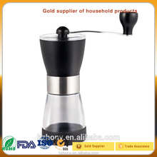 New design with high quality OEM Service Portable manual stainless steel commercial coffee bean grinder