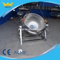 Steam Jacketed Cooking Kettle for Chicken Meat
