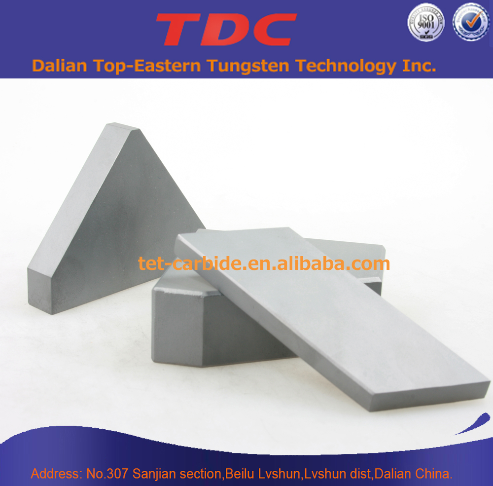 Tungsten Carbide Shield Cutter Tips/TBM cutter made from best quality high impact toughness tungsten carbide bits