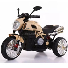 Hot sale lovely 3 wheel kids eletric motorcycle with light