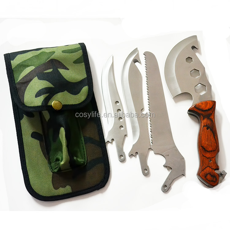 Многофункциональные ножи для выживания своими руками 30