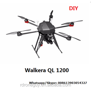 drone Walkera QL 1200 Petrol-electric hybrid 72KM DIY drones rc helicopter large drone long range