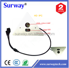 Waterproof CCD 92 degree wide angle Array LED IR P2P Mini indoor digital camera cctv IP Camera