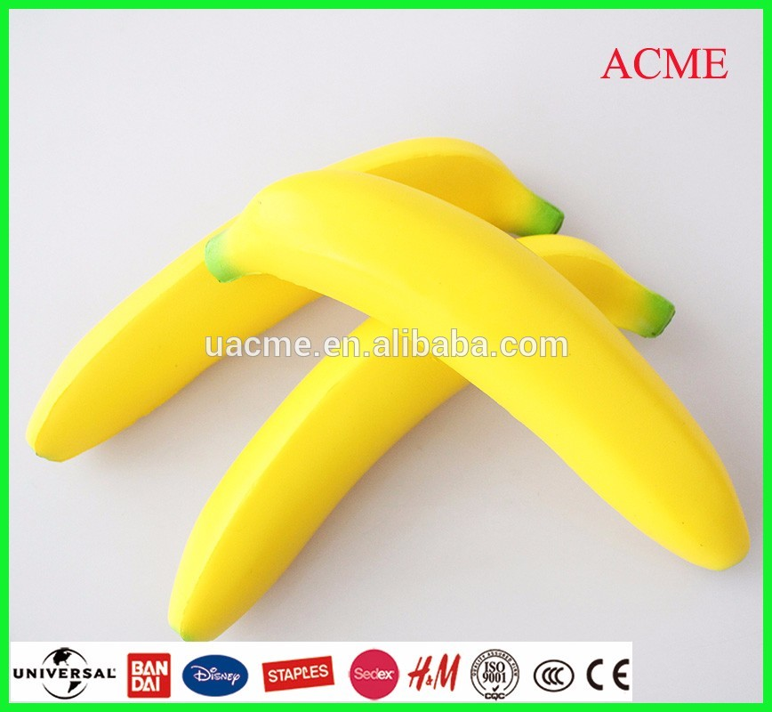 very soft slow rising squishy toy banana shaped toy scents available