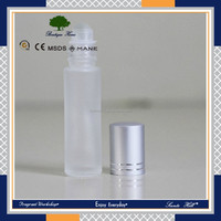 Perfume or Fragrance use High quality Aluminum recycled glass frosted Sprayer bottle