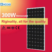 Moge monocrystal 300w solar power panel manufacturers for home electricity from china
