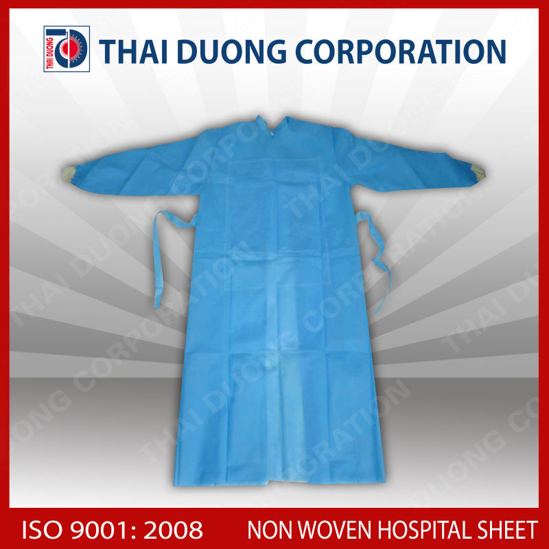 Medical clothing made by PP non woven fabric