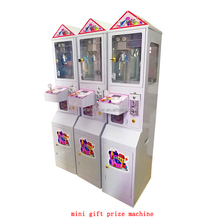 lovely coin operated plush toys claw crane redemption game machine mini gift prize machine