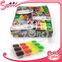 12PCS Fruit Jelly Cube Jelly Candy
