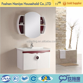 Wholesale modern bathroom vanity import display cabinet