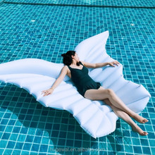 Unique design large Inflatable float White/Gold Angle wings giant animal pool floats