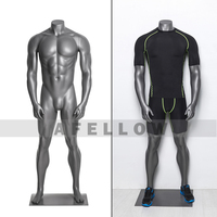 UA series male and female sports mannequins muscle mannequin