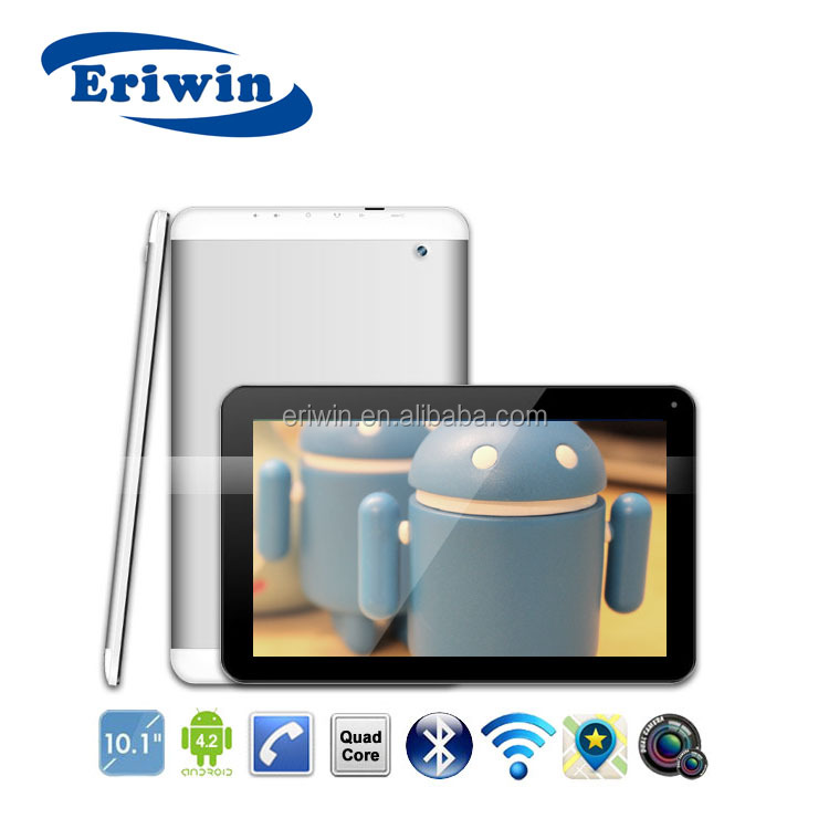 hot selling new 10.1 inch Quad core CPU Build in 3g tablet pc