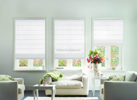 Bintronic Home Decor Different Styles of Electric Curtains Motorized Roman Blinds With Roman Shade Roller