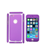 Most popular items Mobile accessories Purple style Hard back cover for smartphone phone case fashion