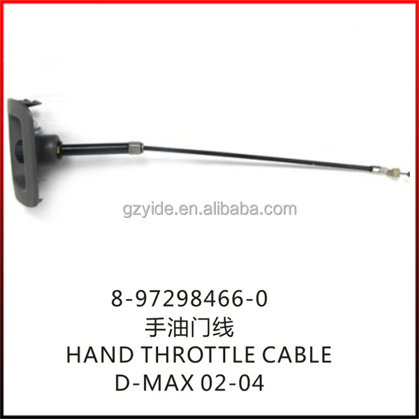 D-MAX HAND THROTTLE CABLE/OE: 8-97298466-0