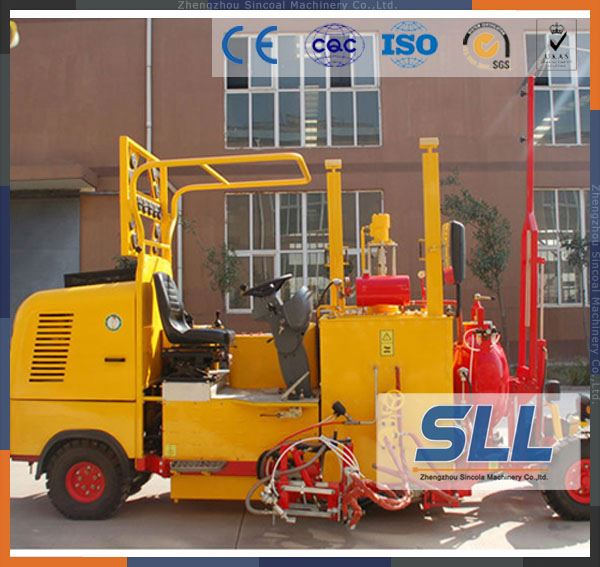 SINCOLA Rs Series Cheap Safety Line Thermoplastic Road Marking Machine For Sale