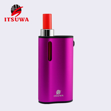 Itsuwa 2016 all- in one device product 2N1 box mod vape ecig starter kit