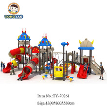 TONGYAO Kids Plastic Outdoor Playground Big Slides for Sale