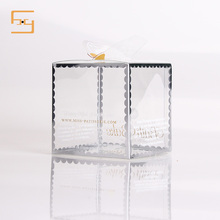 Custom Clear Plastic Candy Cake Chocolate Food Packaging Box