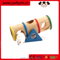 Wholesale wooden hamster toys,natural wood hamster cage,hamster wooden house
