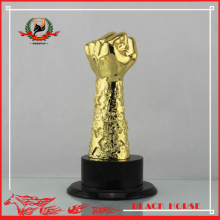 Modern Design Hot Sale Wholesale Pretty Award Fist Trophy
